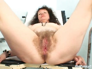 Karla visits gyno clinic with extremely shaggy pussy